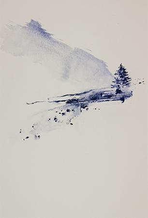 Altitude II - 80x60cm - 2018