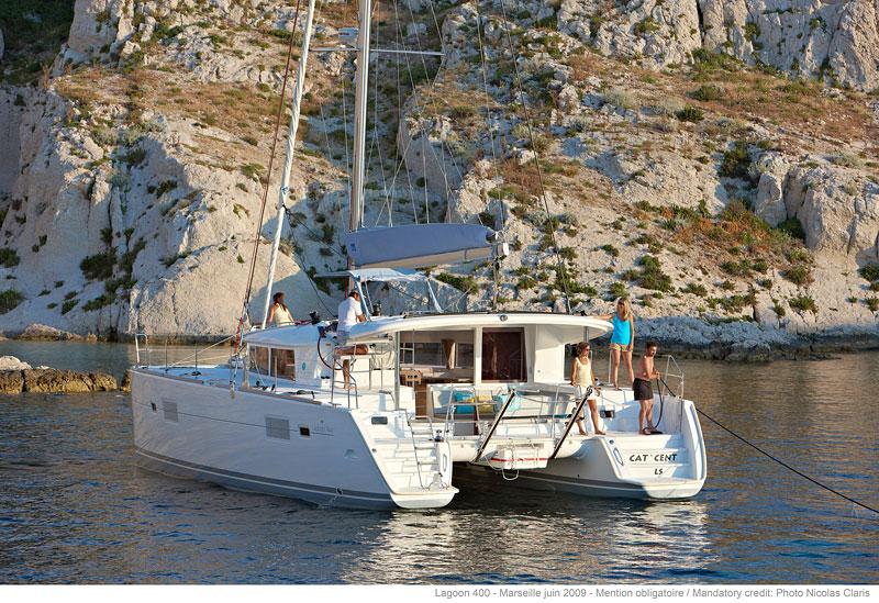 Segelurlaub Griechenland Lagoon 400