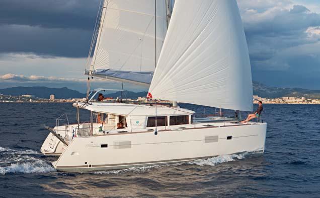 Segeln mit Skipper Katamaran Toskana