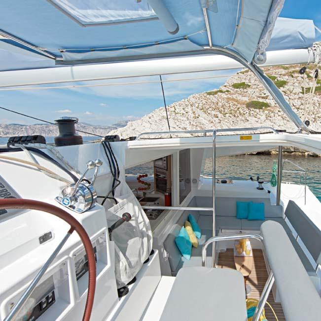 Urlaubssegeln Katamaran Naxos