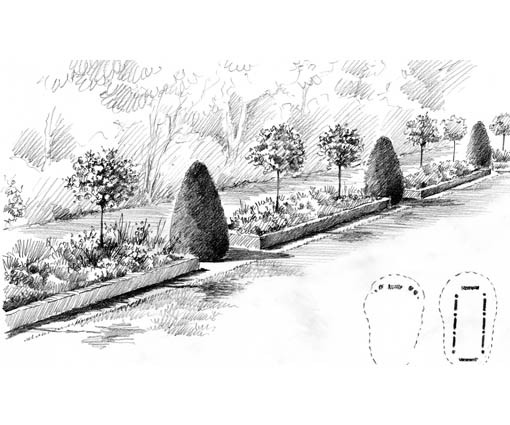 Extrait Carnet de détails - Projet paysager