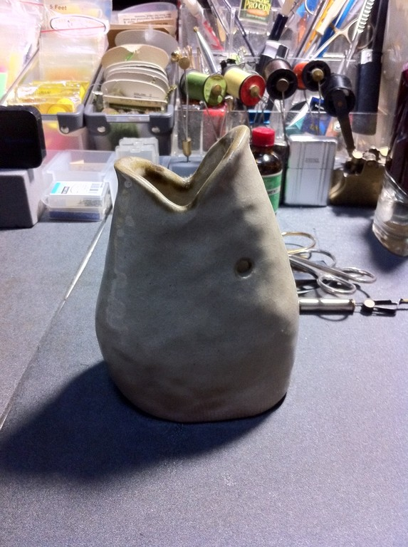 自作益子焼(1)粘土を買って作るヤツです。