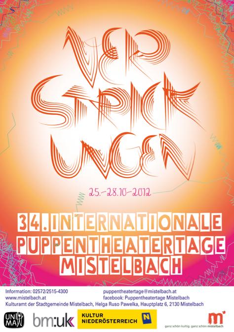 Poster Design Puppentheater Mistelbach by Cindy Leitner 2012