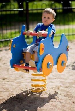 Federwippe Auto für Kinder ab 1 Jahr
