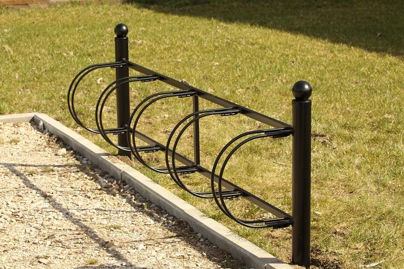 Fahrradständer schwarz