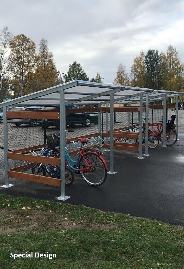 Fahrrad-Parkplatz II