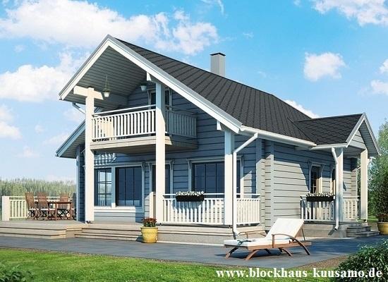 Blockhaus als Singlehaus oder Alterssitz - Finnische Blockhäuser