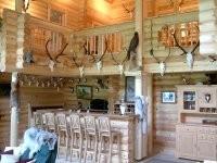 Hausbar (Jagd- und Gästehaus) im Blockhaus  aus Finnland  - Blockhaus als Wohnhaus