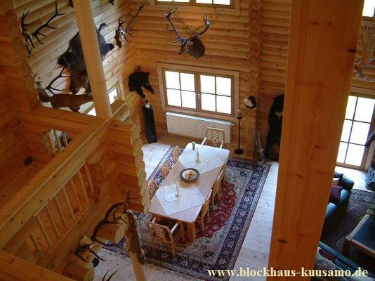 Wohnzimmer im exklusiven Wohnblockhaus