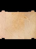 Der massive Wandaufbau mit 275x220 Blockbalken - Der Baustoff unserer langlebigen Blockäuser sind Blockbohlen aus Polarkiefer.