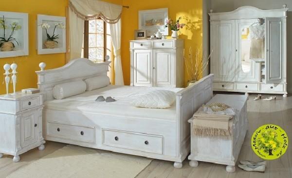 Landhausmoebel aus Massivholz für Schlafzimmer  © Massiv-aus-Holz.de