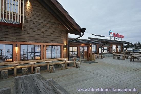 Ausfluglokal im Blockhaus - Außenansicht