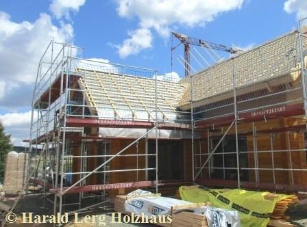 Blockhaus - Dach - Dachdecker