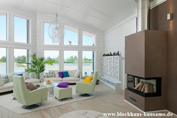 Blockhaus als Wohnhaus: Das Aussehen vom Feinsten und Sicherheit