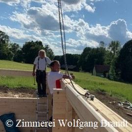Neubau - Blockhaus als Einfamilienhaus bauen - Holzhaus