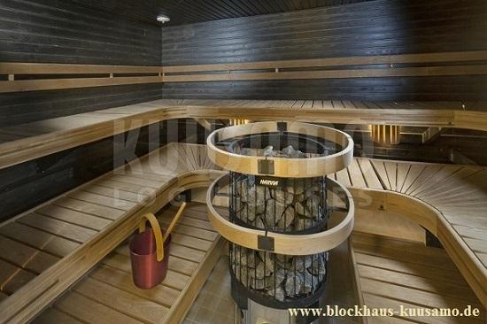 Saunaofen im Einfamilienhaus