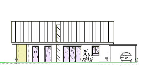 Holzhaus - Hauptzeichnung - Architekt - Blockhaus - Architektenzeichnung - Oberfranken - Erlangen - Bayern - Hausbau - Nürnberg - Einfamilienhaus - Wohnhaus - Bungalow - Neubau - Traumhaus - Musterhaus - Bauherrenhaus - Architektenhäuser - Baufirma - Bau