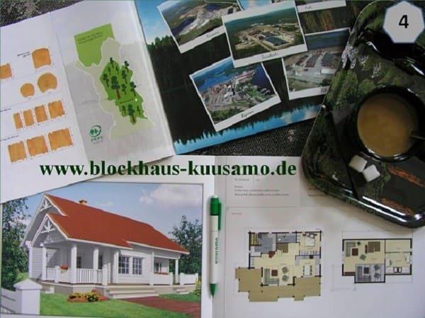 Blockhaus als Einfamilienhaus in ökologischer Blockbauweise
