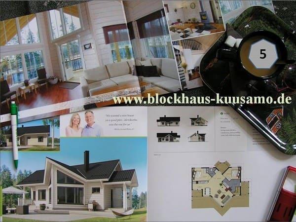 Singlehaus - Barrierefreies Blockhaus - Wohnhaus - Bungalow  - Kleines Holzhaus - Ferienhaus  - winterfest - Kleine Holzhäuser zum Wohnen - Holzhaus Bausatz