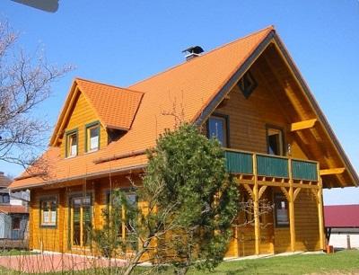 Blockhaus Büro bei Trysa - Hessen - Homburg - Wetzlar - Darmstadt - Baunatal - Neu Isenburg - Isoliertes Blockbohlenhaus