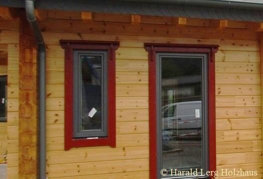 Blockhaus Fenster