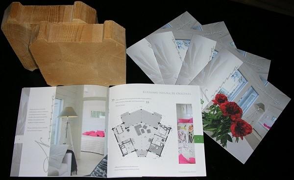 Kuusamo Designhaus mit Balkenstärke ab 180 x 195 mm - Katalog mit Variationen - © Blockhaus Kuusamo
