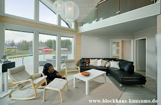 Architektenhaus, Wohnblockhaus, Blockhaus, Holzhaus, Holzhäuser, Wohnblockhäuser, Hausbau, Hausplanung, Einfamilienhäuser, Grundstück, Fenster, Türen, Sonnenenergie