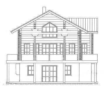 Reizvolles Blockhaus nach Maß - Planung Harald Lerg Holzhaus