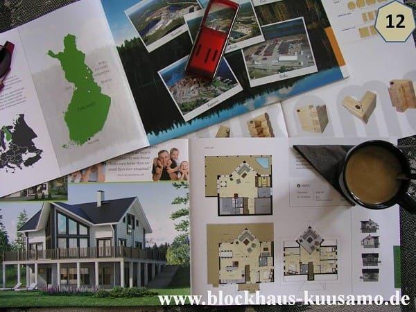 Holzhäuser zum Wohnen - Hanghaus mit Wohnkeller -Entwurf  - Landhaus - Darmstadt - Holzhaus schlüsselfertig bauen - Blockhausbau