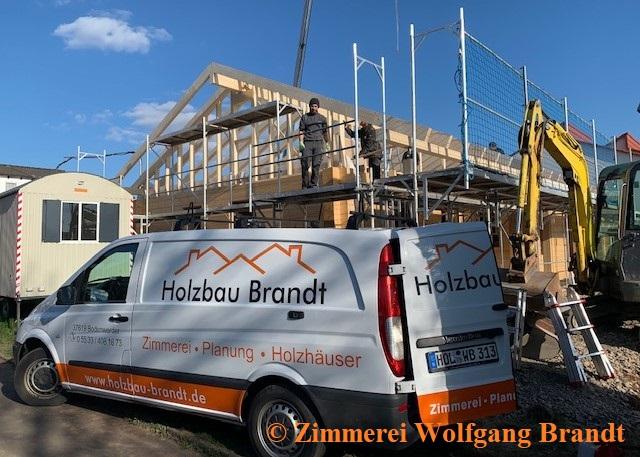 Blockhaus Bauen  - Niedersachsen - Bodenwerder - Blockhaus Montage - Blockhausbau