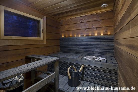 Sauna im Wohnhaus