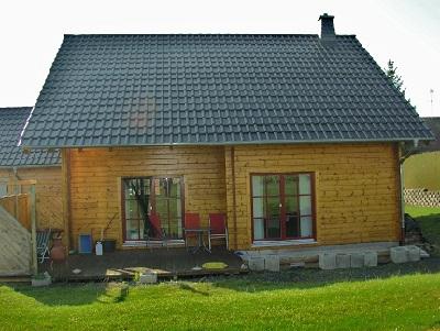 Blockhaus - Einfamilienhaus Holz - Fulda - Marburg - Eschwege - Rüsselsheim am Main - Hausbau - Wohblockhäuser