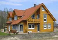 Blockhaus - Wohnblockhaus - Architektenhaus -  Architektur mit Eleganz