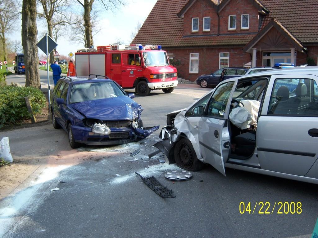 Verkehrsunfall Klein Bokern 22.04.2008