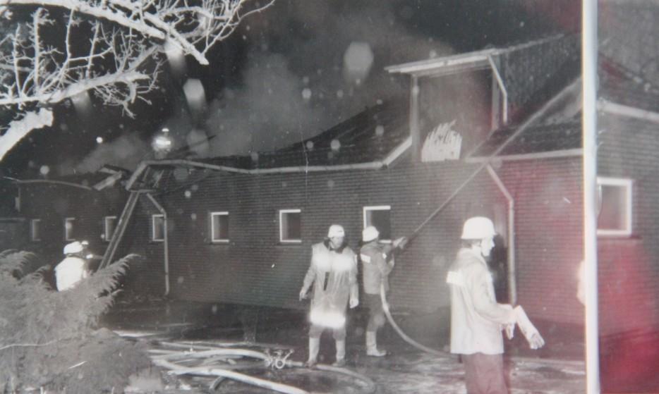 Großbrand Hof Finke 05.02.1991