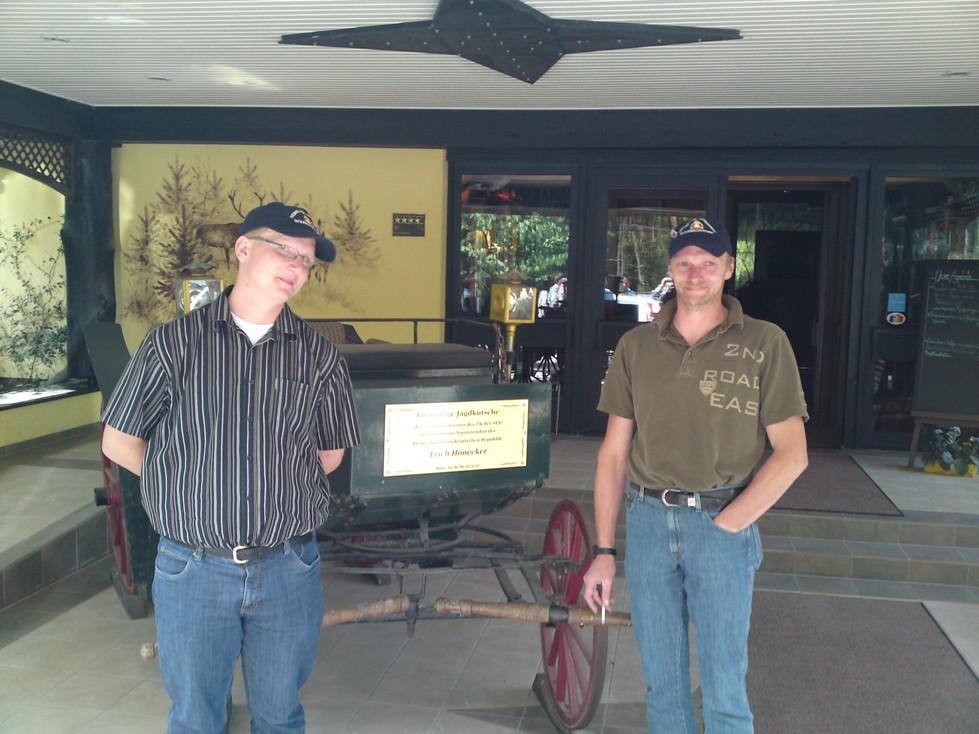 Besuch in Praum 2010