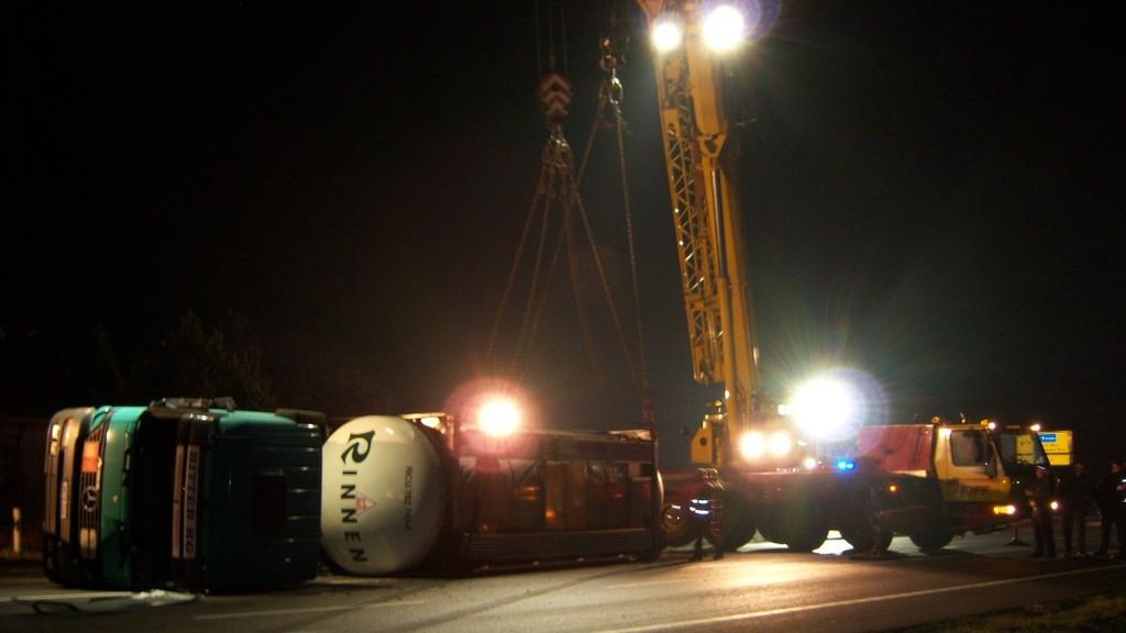 Gefahrgutunfall Ankumer Weg 16.12.2007