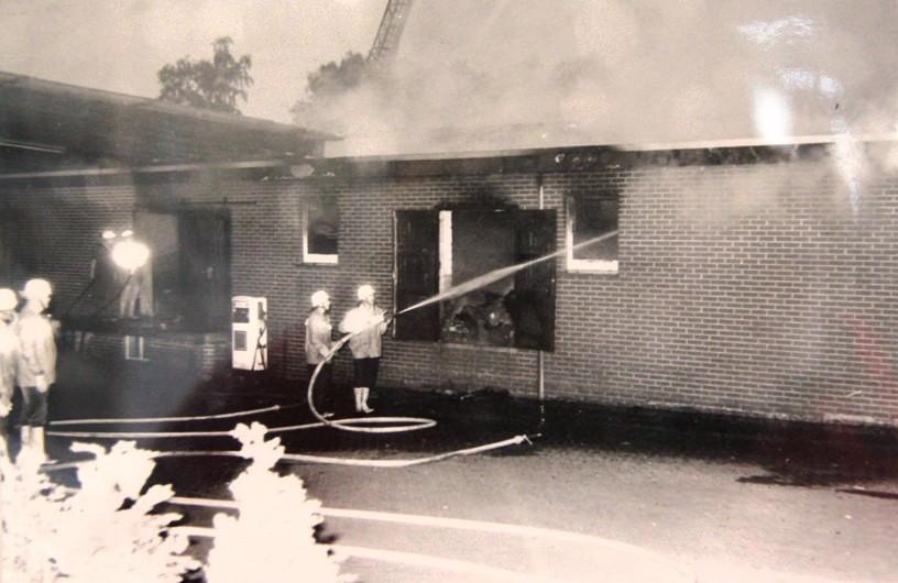 Großbrand Fa. Thale 14.07.1991