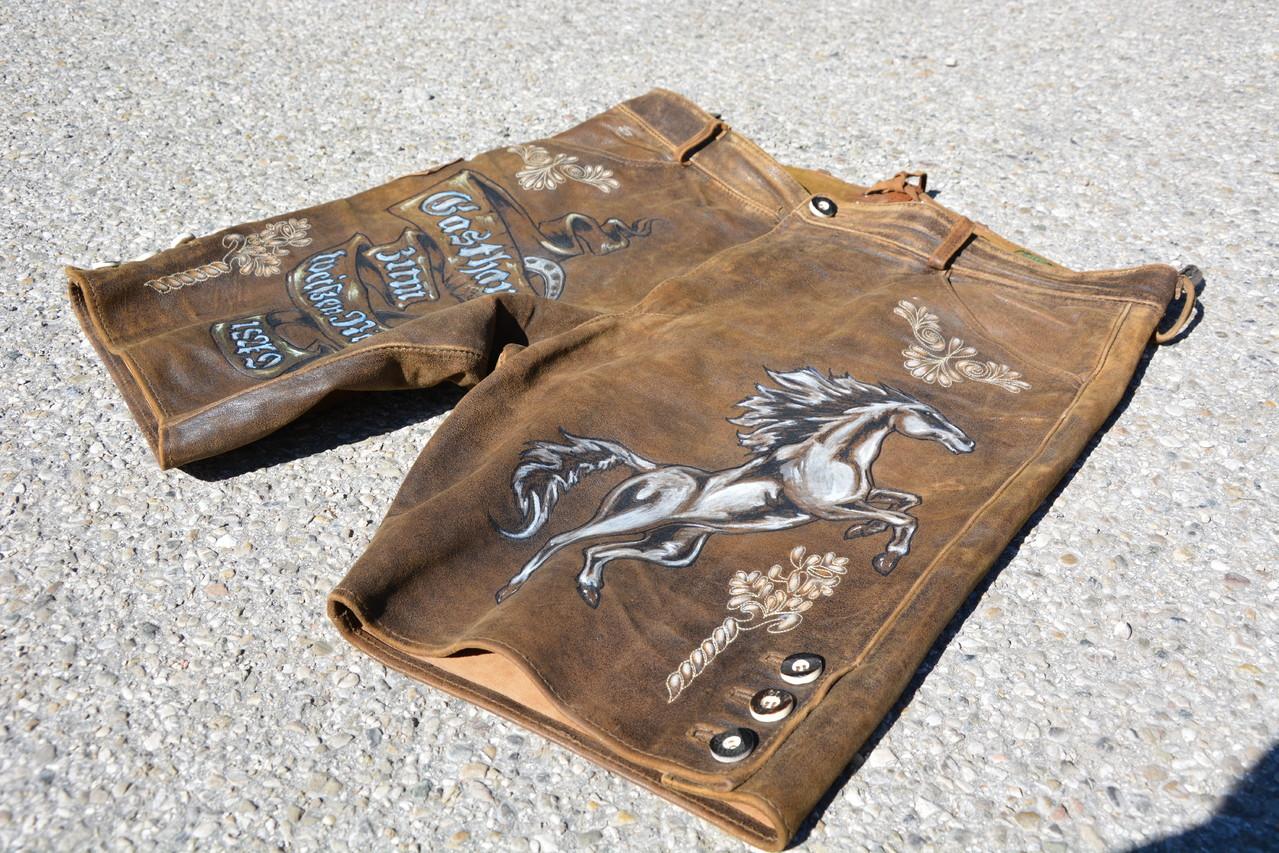 Trachtenlederhosen, Lederhosen, Motive