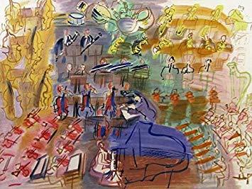 ラウル・デュフィ『青いピアノとオーケストラ』