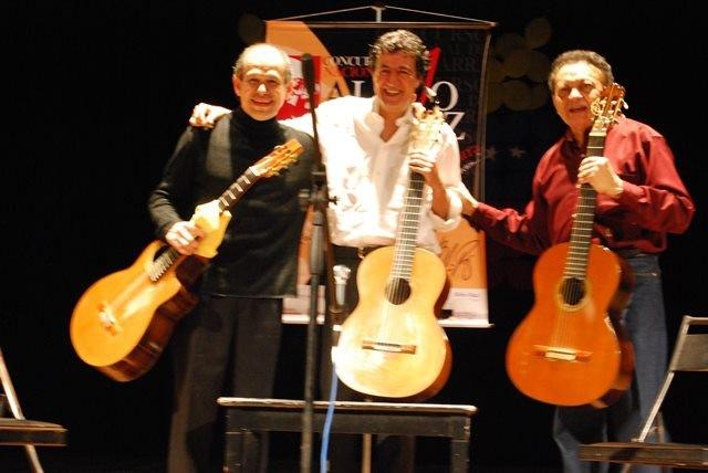 Lorenzo Camejo,Senio Diaz y Alvaro Alvarez