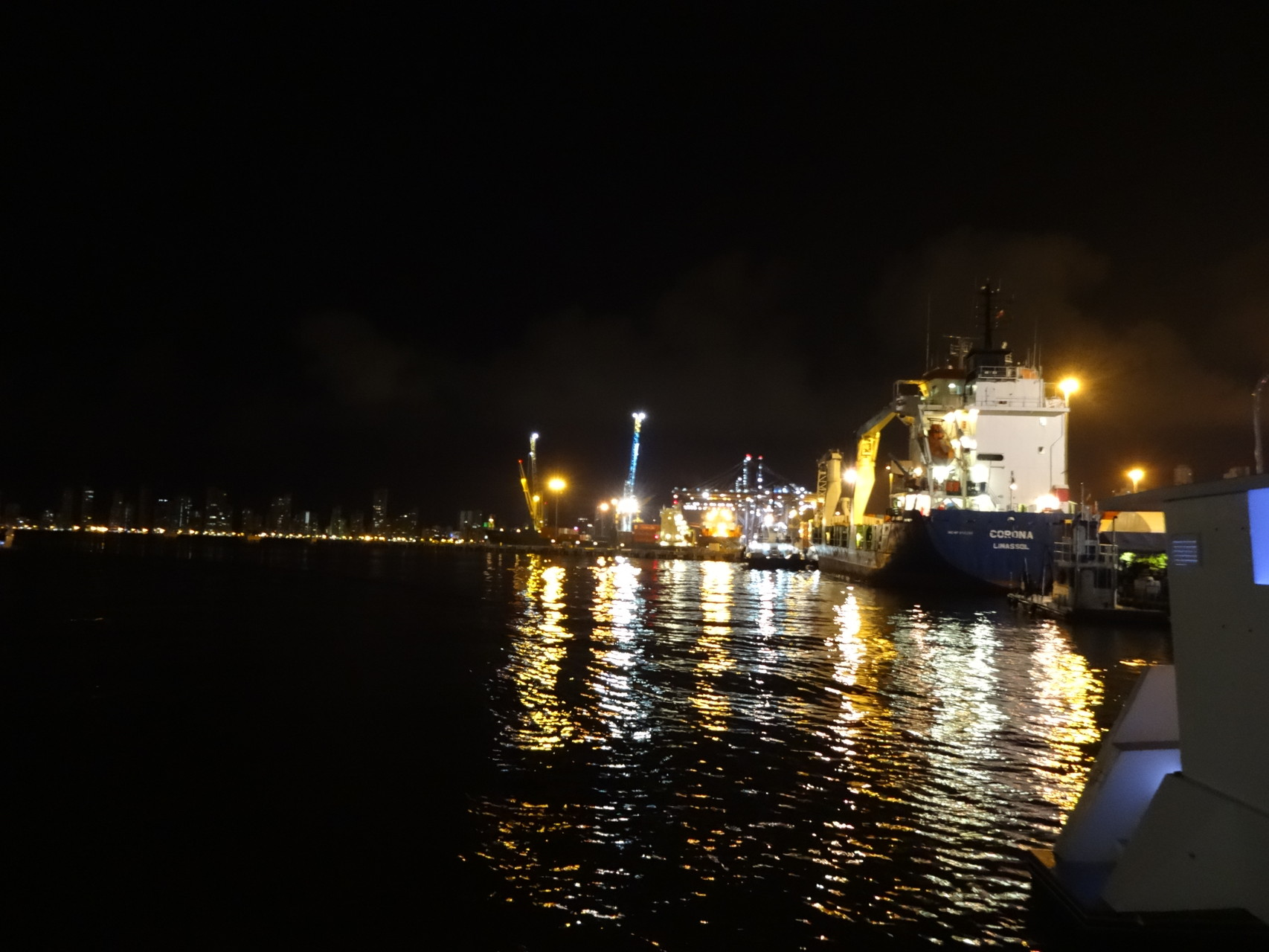 Hafen Cartagena Kolumbien