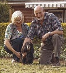 Erstes Haus: Lydia und Joachim Schröder