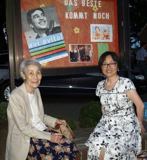 Auch japanische Gäste besuchten das Schenefelder Konzert.