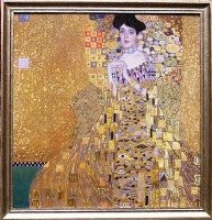 """ Adele Bloch Bauer"" after Gustav Klimt"