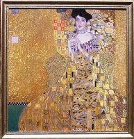 """"""" Adele Bloch Bauer"""" after Gustav Klimt"""