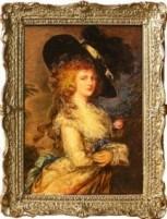 """ Georgiana, Duchess of Devonshire"" after Thomas Gainsborough (1727-88)"