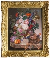 """ Flowerpiece"" after Christiaen van Pol (1752-1813)"