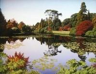 """ Sheffield Park in Autumn""  Original Composition"