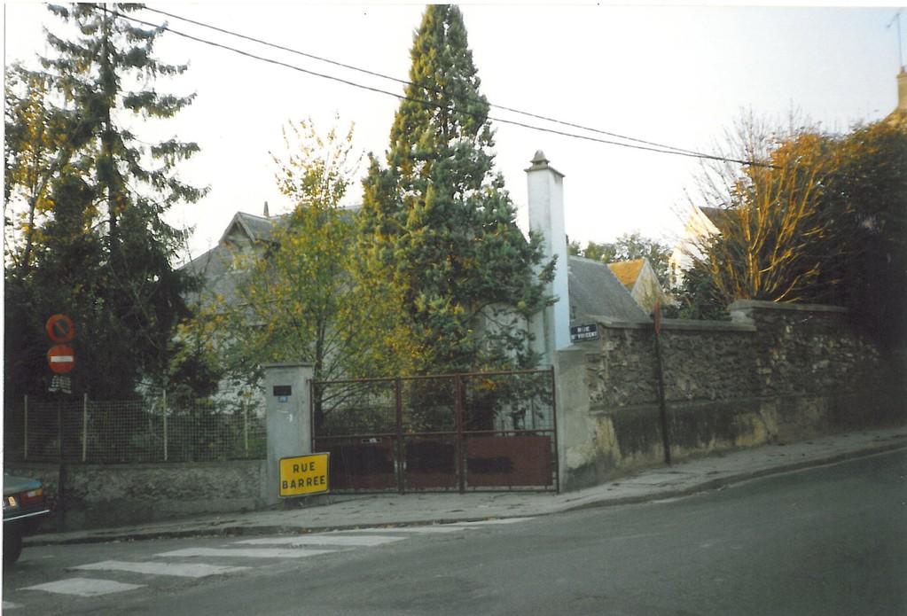 Ecole Notre Dame entrée rue 1988 - 1989